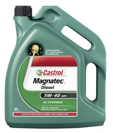 Ulei motor Castrol MAGNATEC Diesel 5W-40 4L